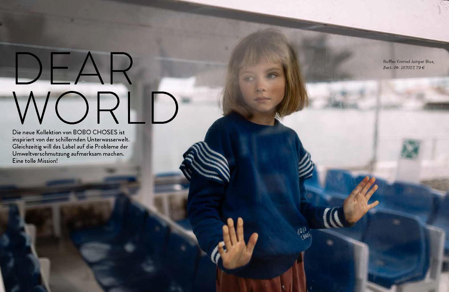 Kleines Karussell Magazin - Dear World