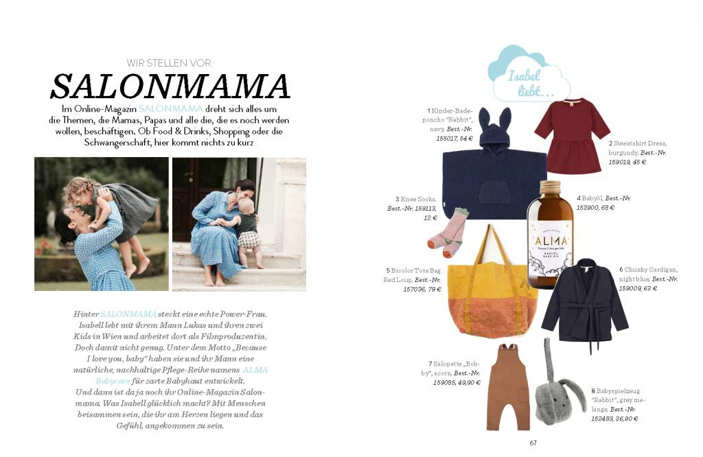 Kleines Karussell Magazin - Salon Mama
