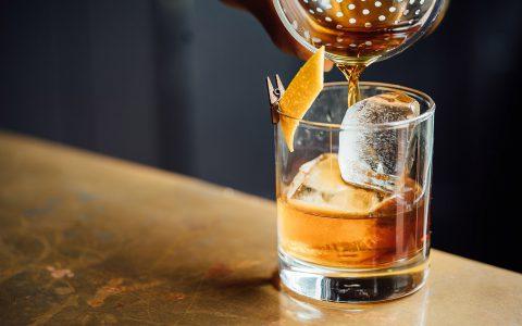 Glas Whiskey Sour