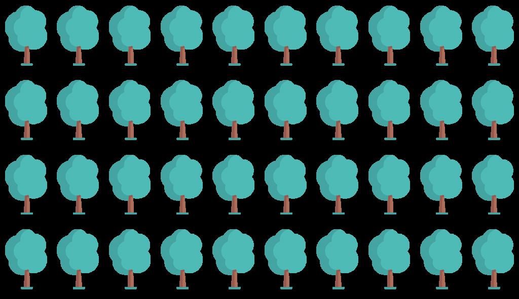 Icons Bäume